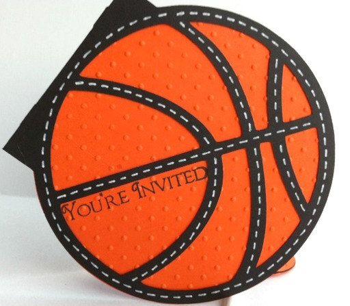 Basketball Invitations Basketball Cupcake Wrappers Basketball