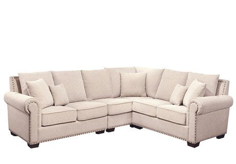 Sensational Abbyson Living Bromley Fabric Sectional Sofa For The Gmtry Best Dining Table And Chair Ideas Images Gmtryco