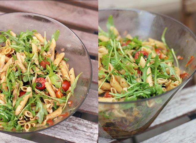 Mediterraner Nudelsalat (eatbakelove) | s a l a t | Salad ...