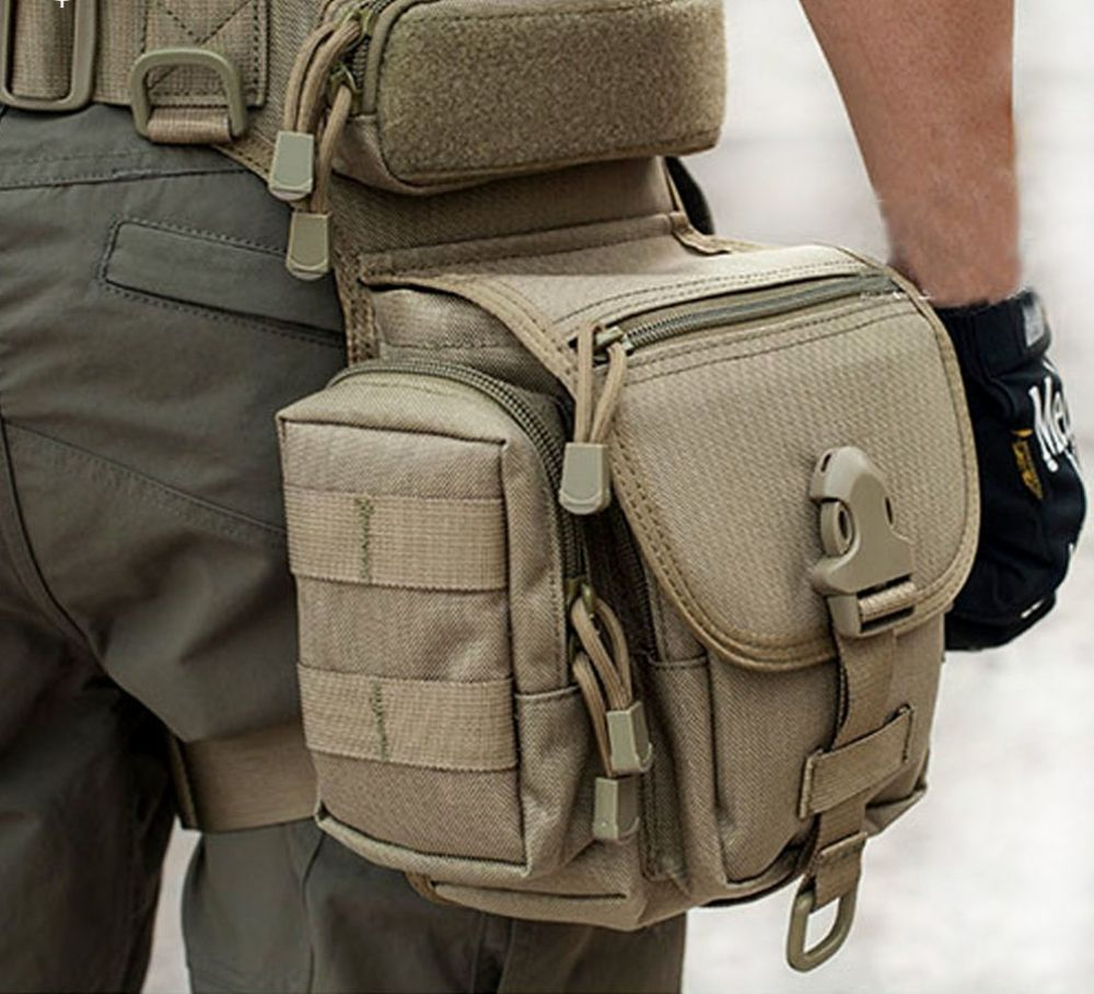 Military Pouch Utility Tactical Nylon Bags Hunting Waist Pack Outdoor Equipment