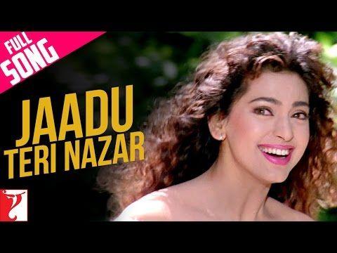 Jaadu Teri Nazar Full Song Hd Darr Shah Rukh Khan Juhi Chawla Youtube Old Bollywood Songs Bollywood Music Videos Bollywood Songs