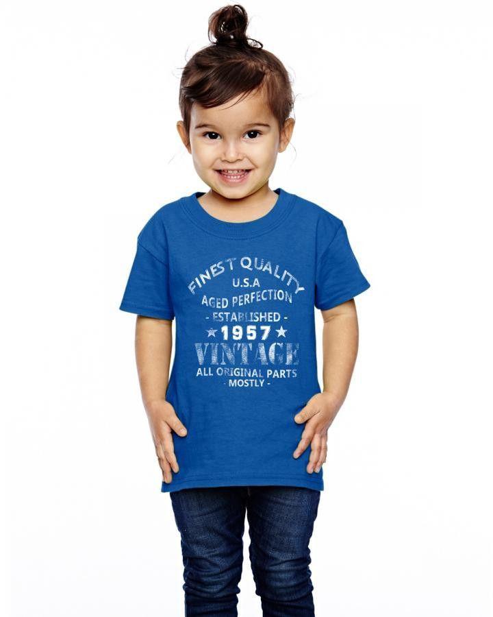 vintage 1957 Toddler T-shirt