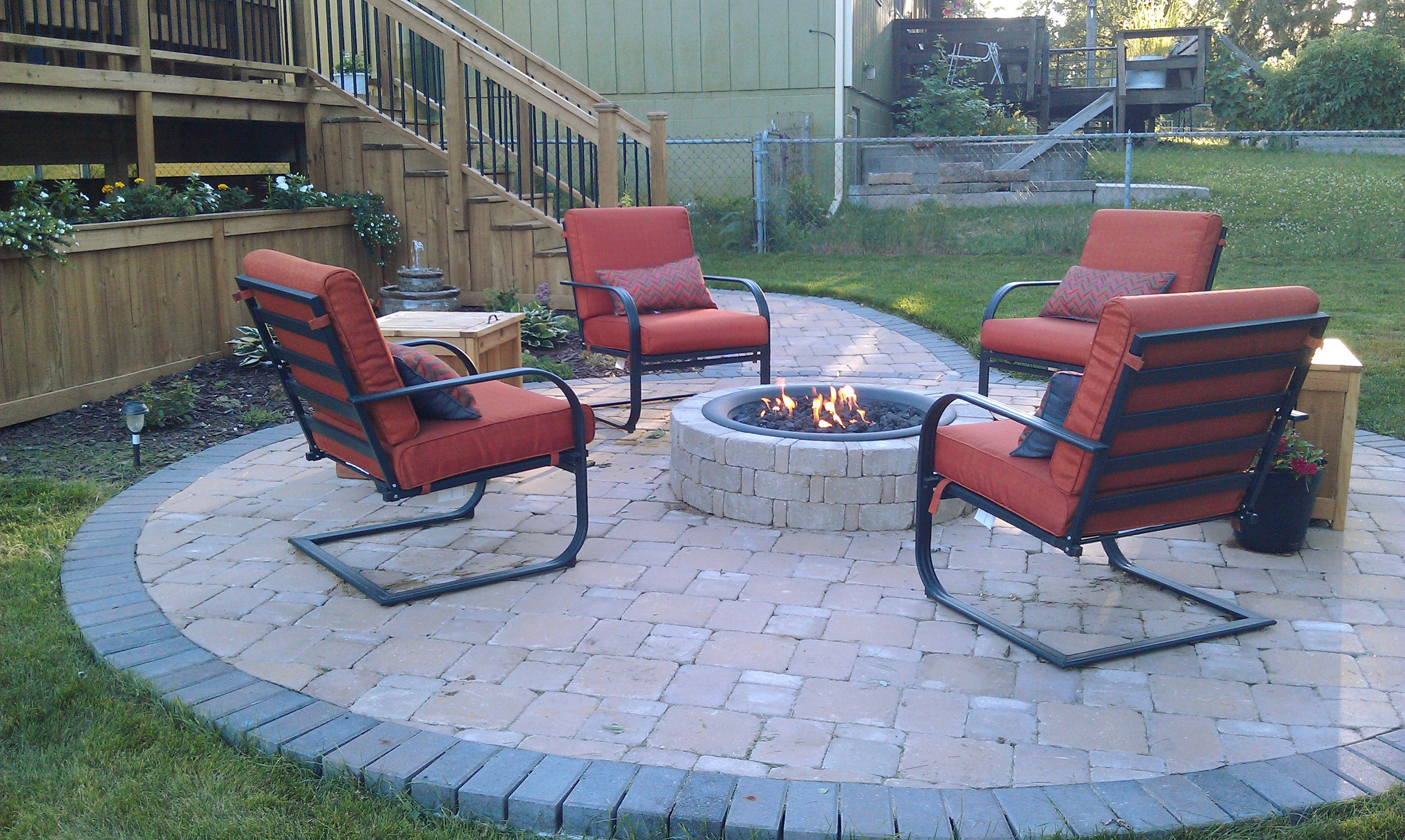 Diy Propane Gas Firepit Bricks From Menards Firepit Bowl From Home Depot Propane Gas Firepit Ring And Ki Fire Pit Furniture Fire Pit Decor Fire Pit Backyard