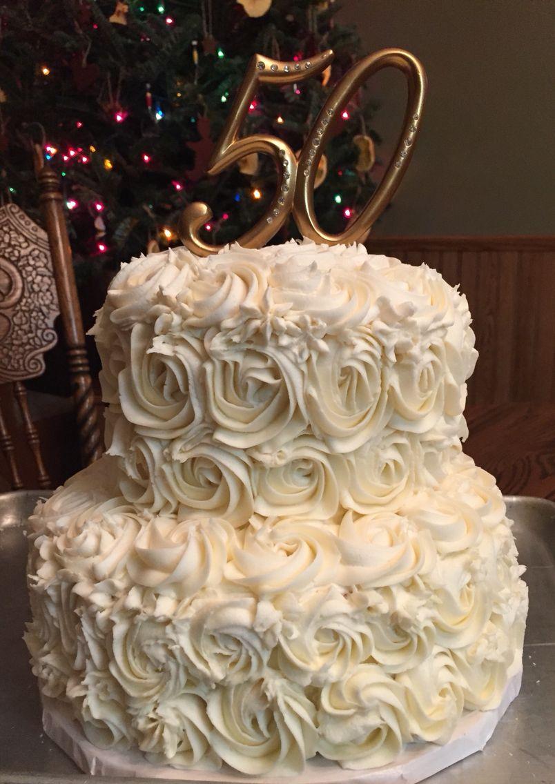 50th wedding anniversary cake 50th anniversary cakes