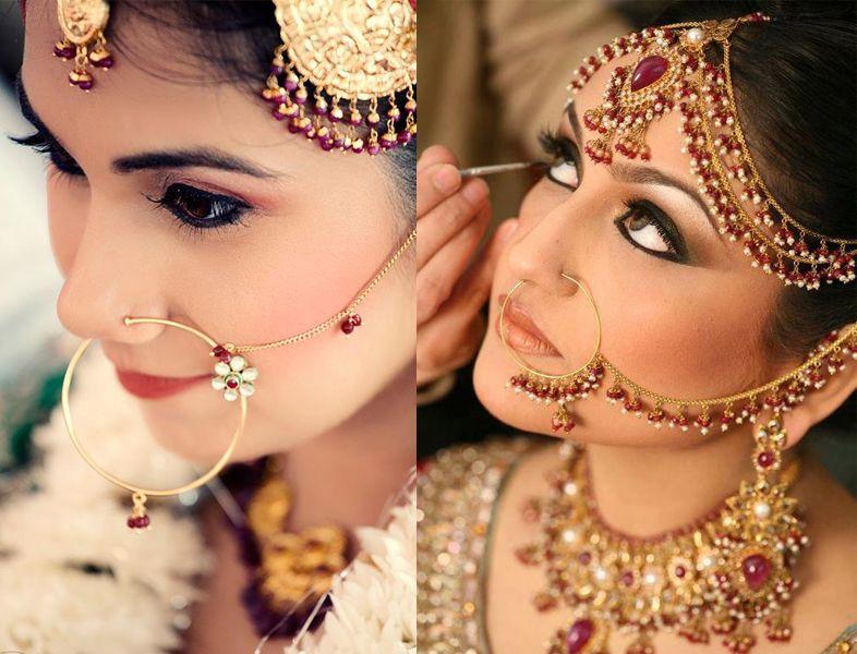 Nose Rings In 2020 Indian Nose Ring Bridal Nose Ring Nose Ring