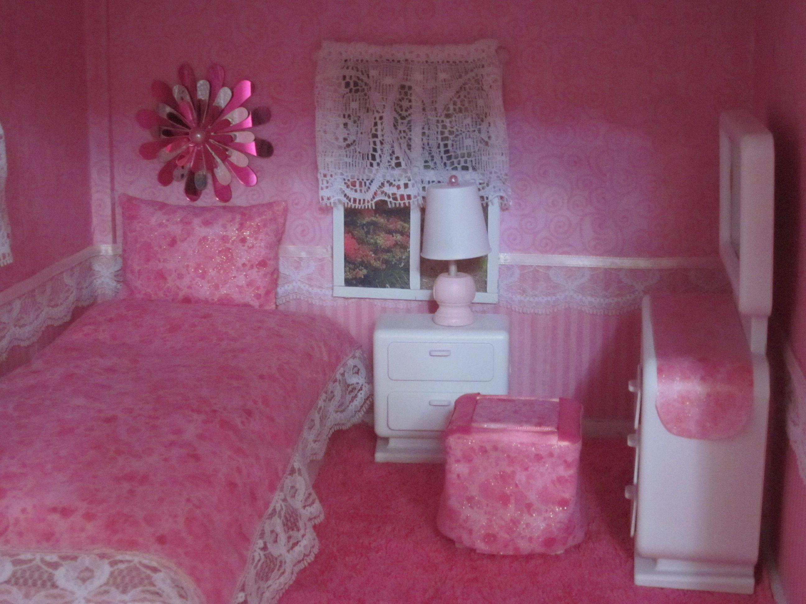 bedroom girls barbie kids shelves bed young ideas for bedrooms