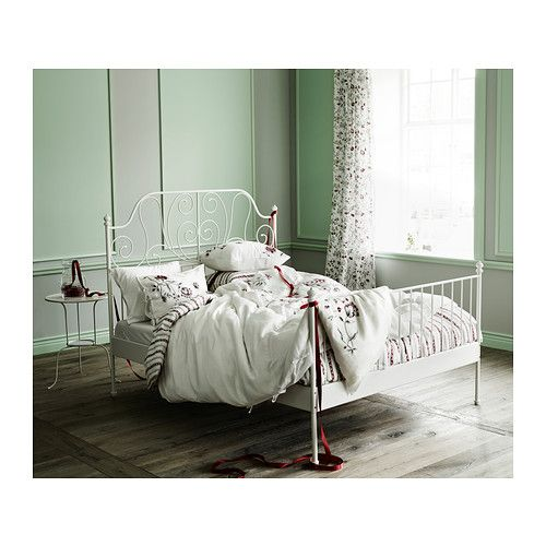 leirvik bettgestell wei bed frames bedrooms and