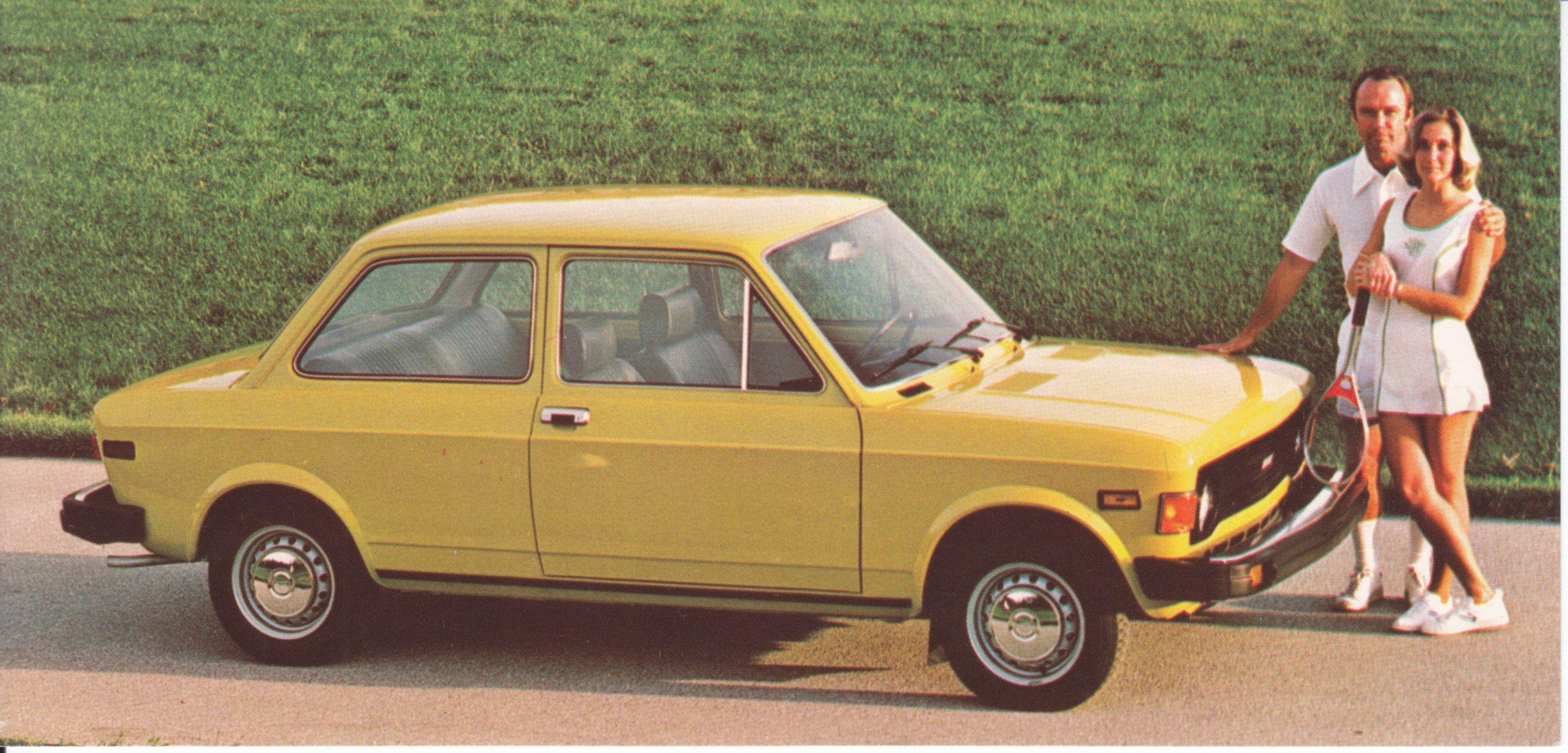 Fiat 128 Standard 2 Door Sedan Usa 7780 1977