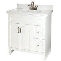 CANADIAN TIRE For Living Beacon Hill White Vanity Meubles Salle - Meuble lavabo salle de bain canadian tire