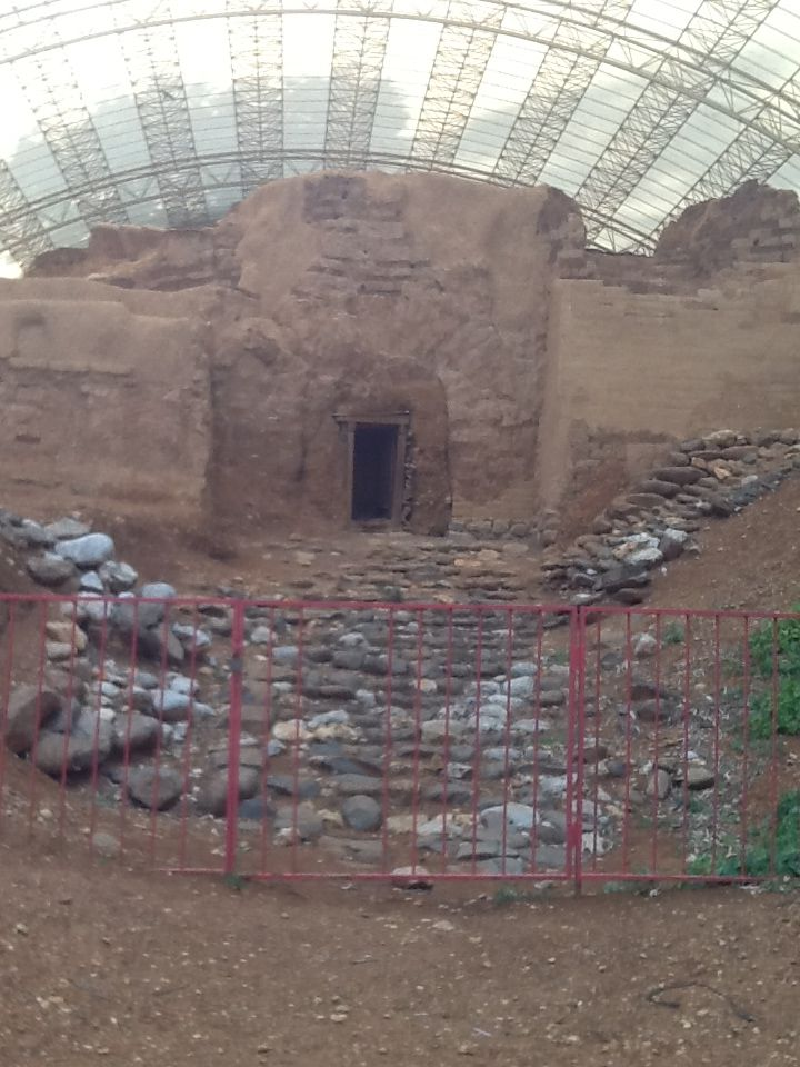 Abraham's Gate near Lebanon boarder