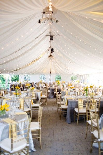 Spring Weddings Love This Idea For The Wedding A Tent Reception