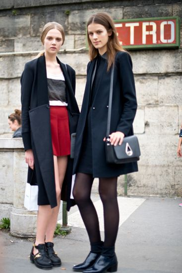 Model Style At Paris Fashion Week: What The Girls Are Wearing Off The Runway   Fashion Week 360