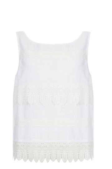 Lace Hem Tank Tops Tops Mr Price Clothing Crop Tops Online