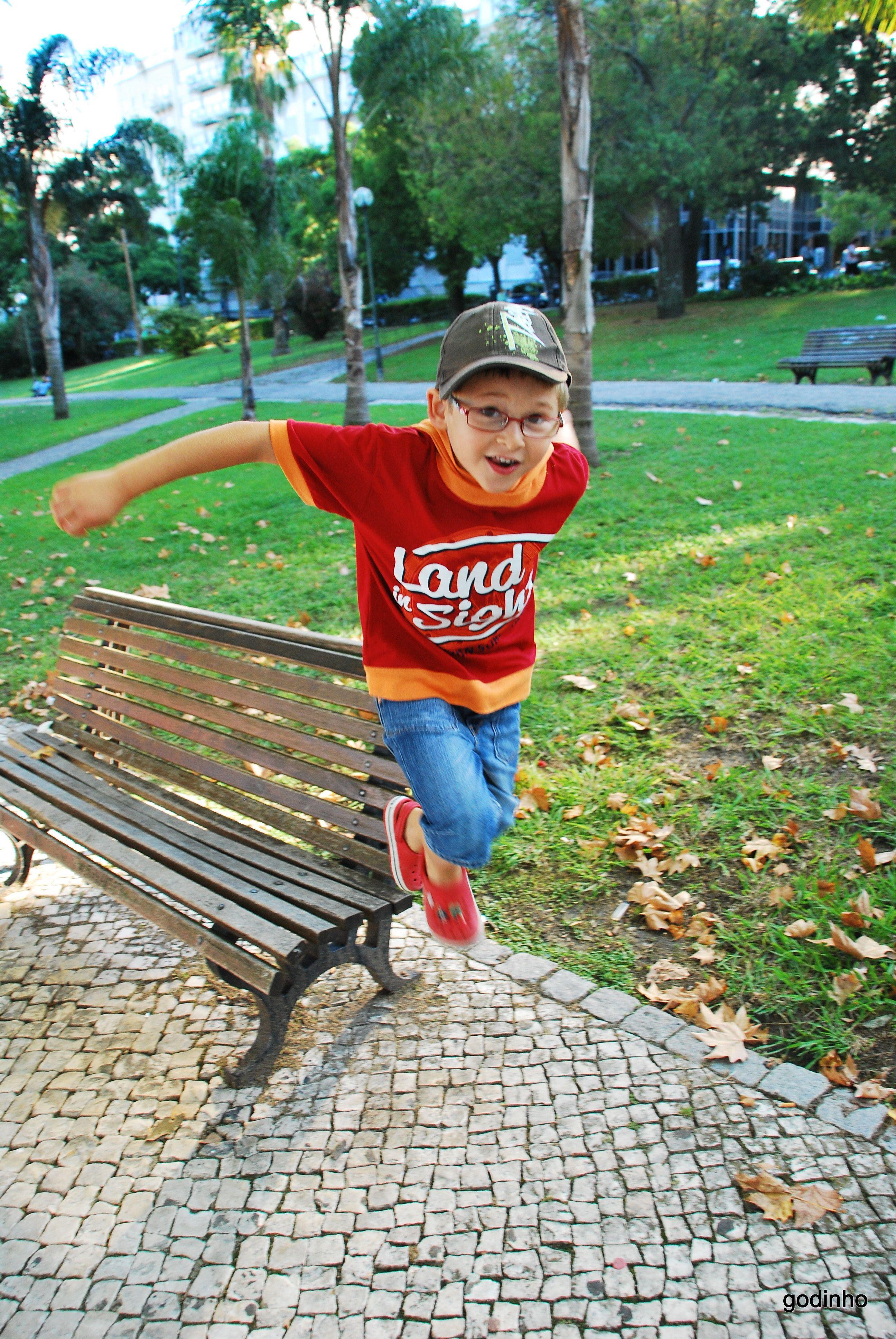 Kid jumping! :-)