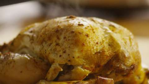 """Baked Slow Cooker Chicken 