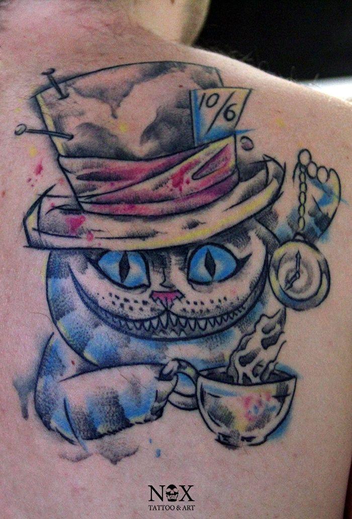 Resultado de imagen para el gato rison tatuaje