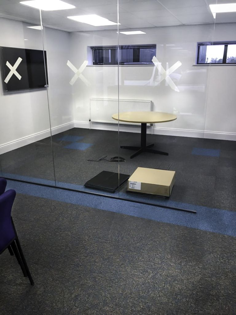 Blue And Grey Commercial Carpet Tiles For Your Office Desso Rock