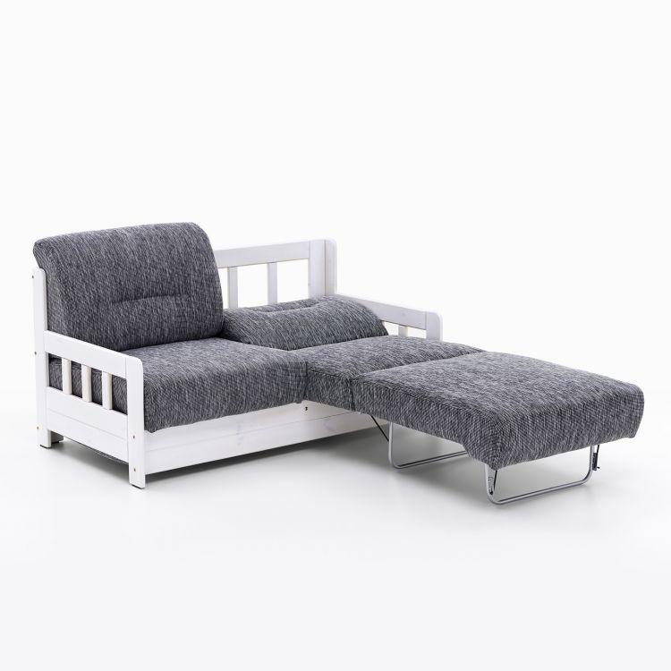 Sofa Szara Z Funkcja Spania 2 Osobowa Model Campus Furniture Home Decor Couch