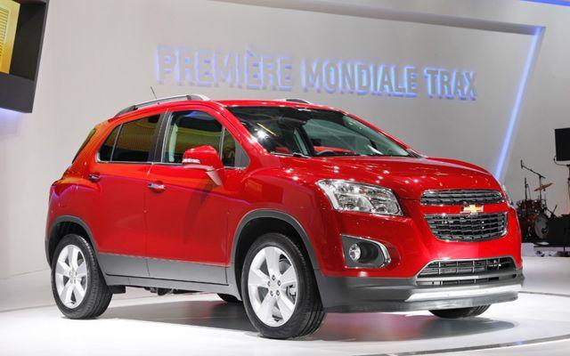 Car News India Latest Auto Expo News Chevrolet Trax Latest