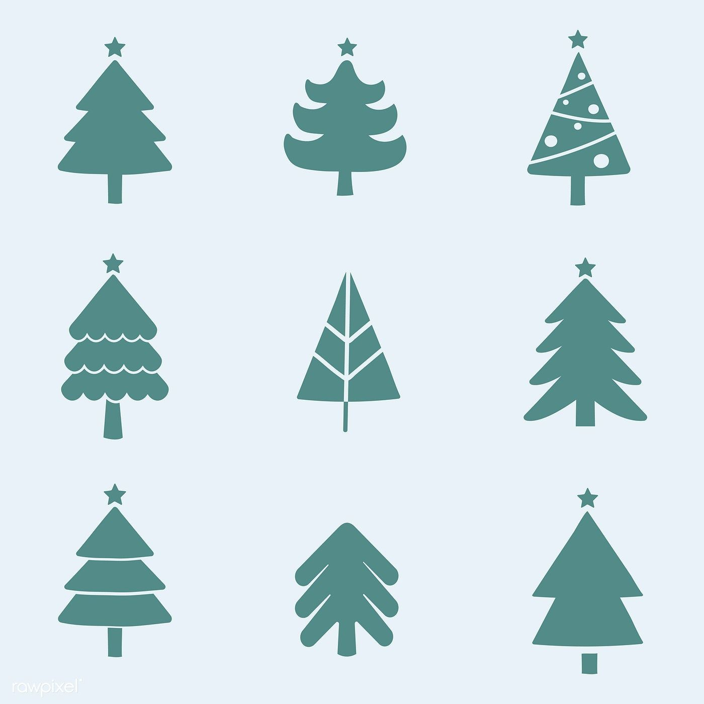 Set Of Christmas Tree Design Elements Vector Free Image By Rawpixel Com Realistic Christmas Trees Tree Designs Cartoon Christmas Tree This tree isn't called the world's best for nothing. pinterest