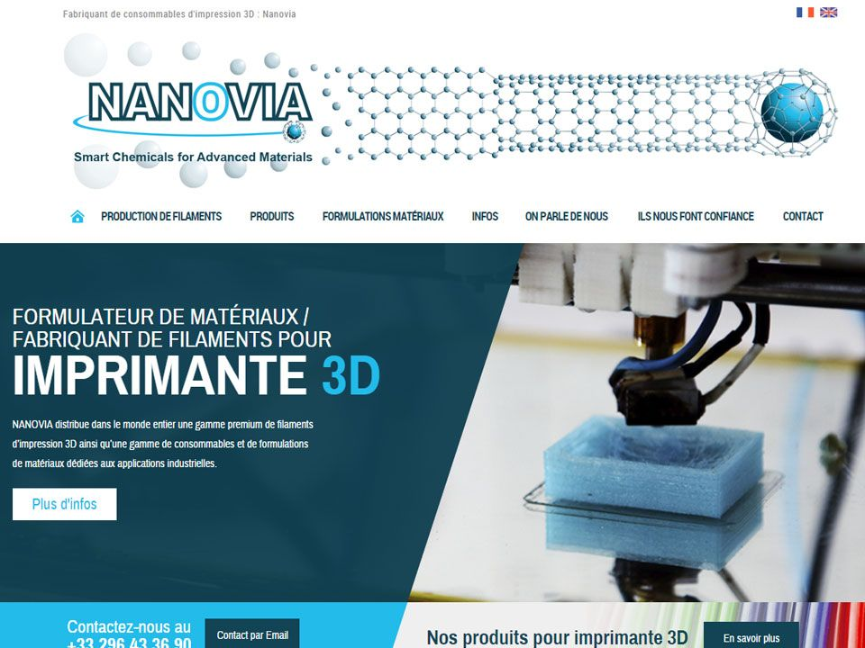Filaments et consommables pour impression 3D