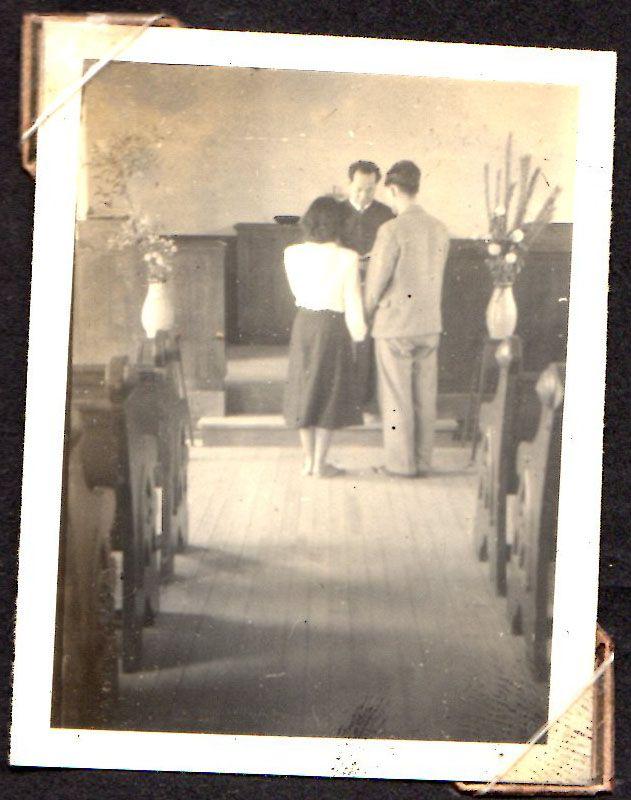 1949年7月16日 結婚式1 Painting Grandfather Art