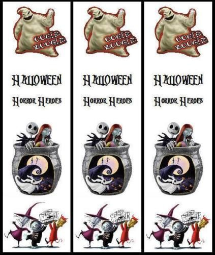 Diamond Select Nightmare Before Christmas Series 10 Nightmare Before Christmas Halloween Bookmarks Party Favors Candy