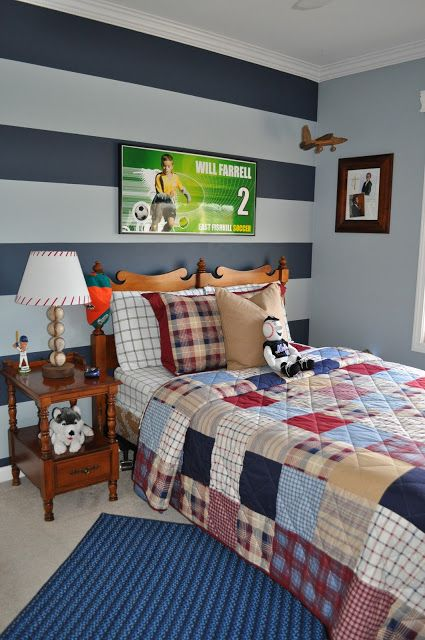 northern nesting striped accent wall kid s room room striped rh pinterest ca