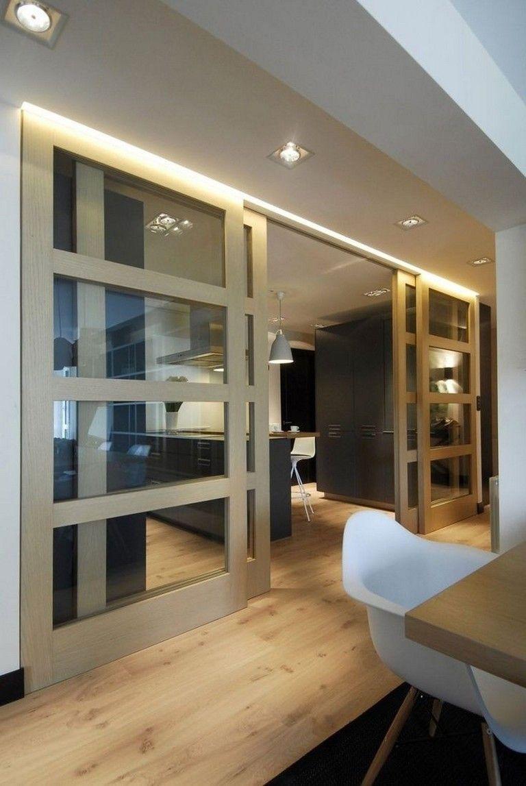 20 Brilliant Sliding Doors Designs Ideas For You Sliding Door Design Internal Sliding Doors Living Room Divider Open plan kitchen living room dividers