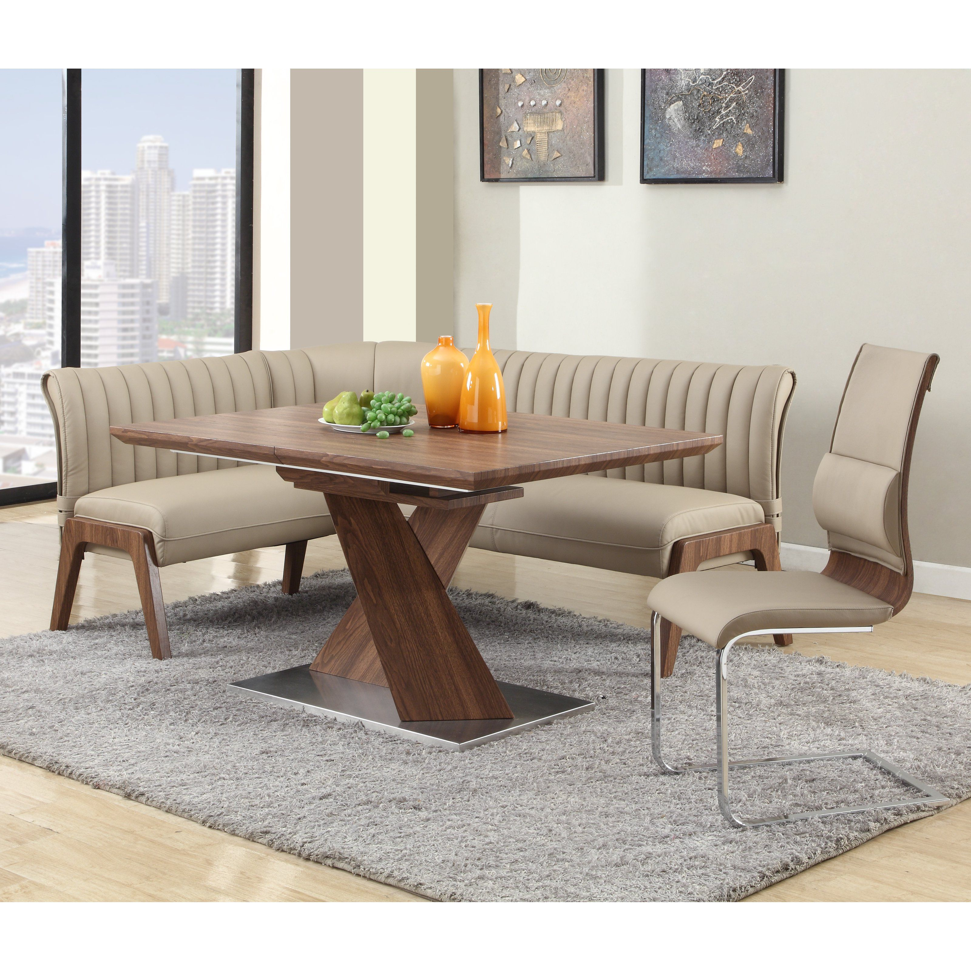 For a dining set that boasts understated contemporary elegance ...