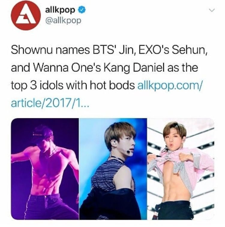 Idols With The Best Bodies According To Monsta X S Shownu Shownu Monsta X Shownu Monsta X
