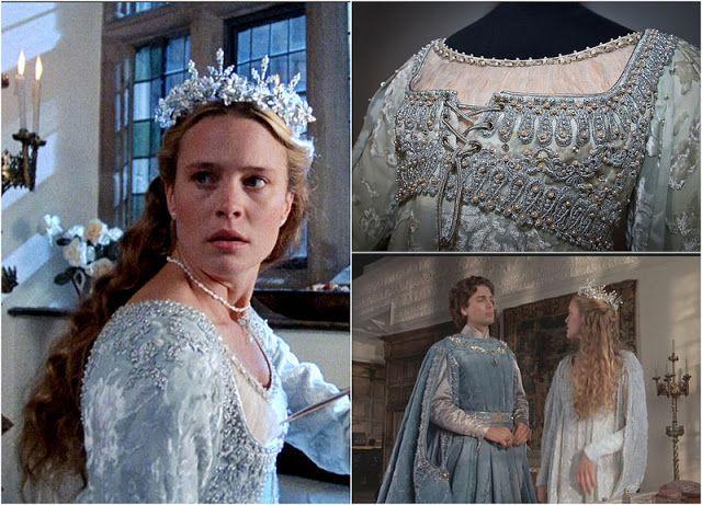 Ivory Princess Bride Renaissance Dress Up Child Costume