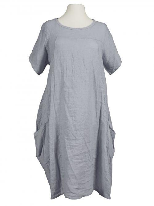 Damen Leinenkleid A-Form, grau von Spaziodonna bei www ...