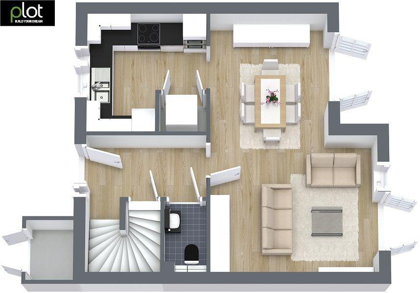 Colocacion y escala de tu mobiliario house pinterest for Mobiliario para planos