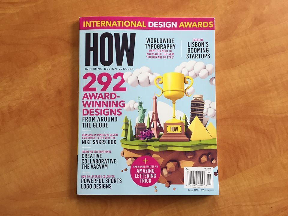 HOW's International Design Annual is here! Peruse the winners of the 2017 International Design Awards, explore the creative scene in Lisbon, Portugal, learn how to create an ambigram, and discover how designers are creating digital typefaces for historically under-represented languages around the world. Click to get your copy today! #traveldesign #travel #design #magazine