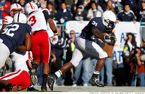 The 2010 Ohio State – Penn State football game summary:   Ohio State won 38-14.   But Ohio State forfeited its wins from 2010 because of the Jim Tressel scandal.   So Penn State won the game.   But Penn State forfeited its 1999 to 2011 wins because of the rape cover up scandal.   So neither team won. Did that game never happen?