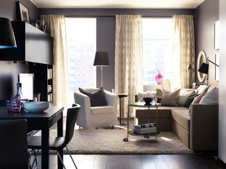 Creative Computer Desk To Be Placed In The Living Room Apartment Living Room Layout Small Living Room Design Sofa Bed Design