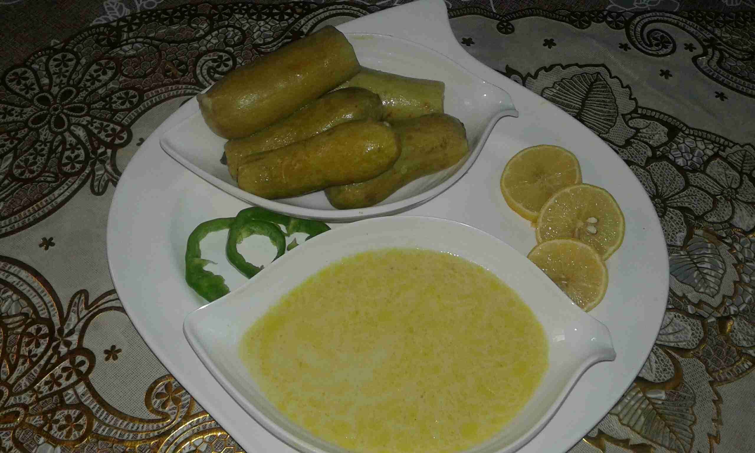 كوسا محشي باللبن زاكي Food Dishes Main Dishes