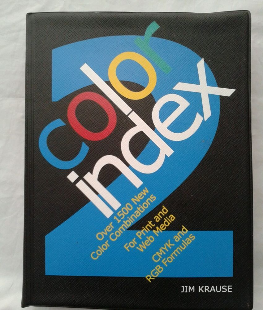Color Index 2 1500 New Color Combinations Print Web Media Cmyk Krause Combination Prints New Color Print