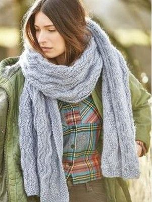 Rowan Selects Norse Scarf Knit And Crochet Knitting Patterns