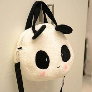 Kawaii Panda Plush Handbag Shoulder Bag SP168431 Cute Fashion 60f1841a73004