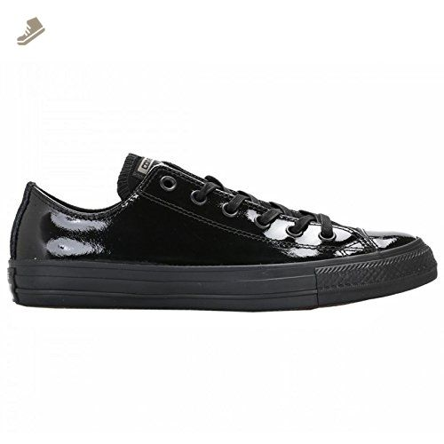 b5c1ea5b84a2ca Converse Womens Chuck Taylor Ox Black Patent Leather Trainers 7 US -  Converse chucks for women ( Amazon Partner-Link)