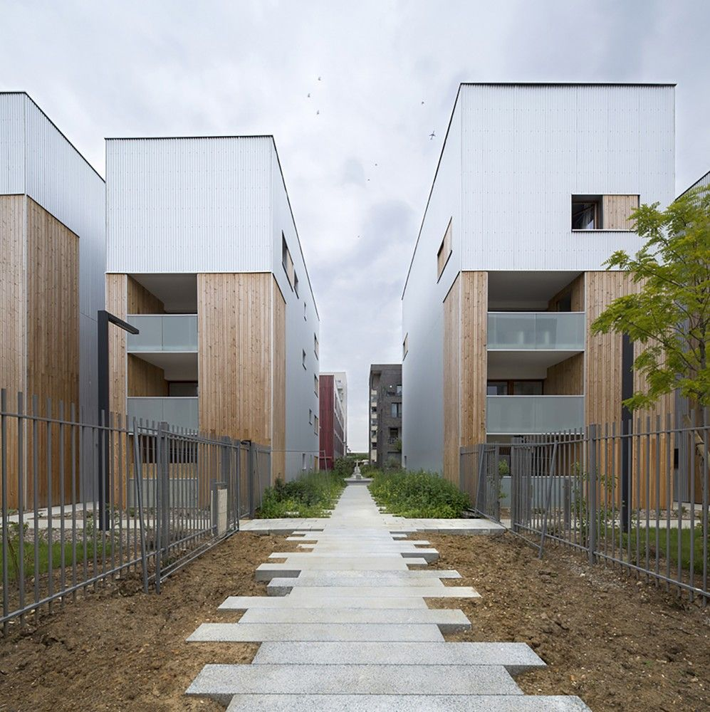 Gallery Of 52 Social Housing Units In Nanterre Colboc Franzen Associes 5 Social Housing Social Housing Architecture Architecture Building