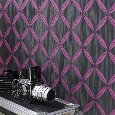 Superfresco Easy Anis Wallpaper, Raspberry