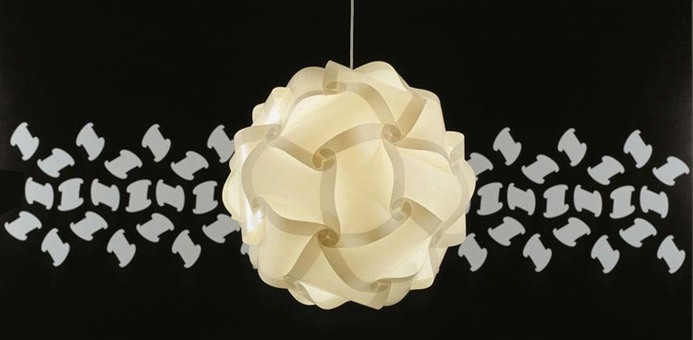 Luvalamps 3d Puzzle Lights Puzzle Lights Contemporary Ceiling Light Infinity Lights