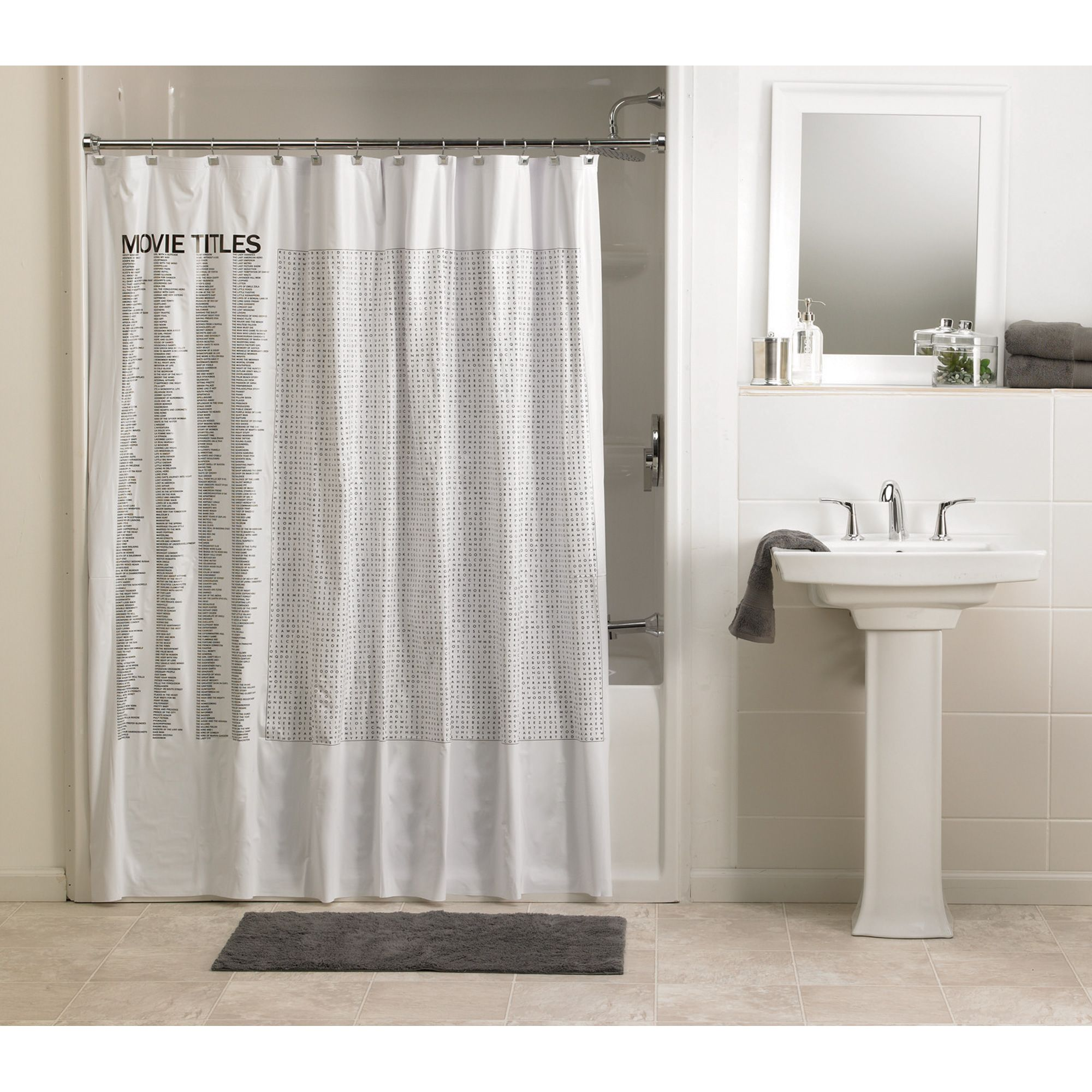 shower curtain sizes