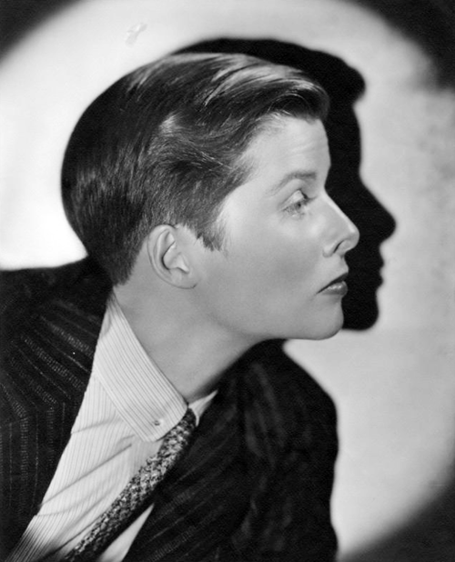 Katharine Hepburn photographed by Ernest A. Bachrach, 1935