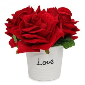 Love Rose Arrangement Gift For Your Lovely Wife Anniversary Gifts