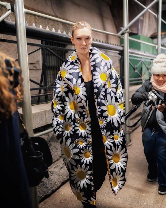 Just Karlie Kloss in 2020 | New york fashion week, Christmas