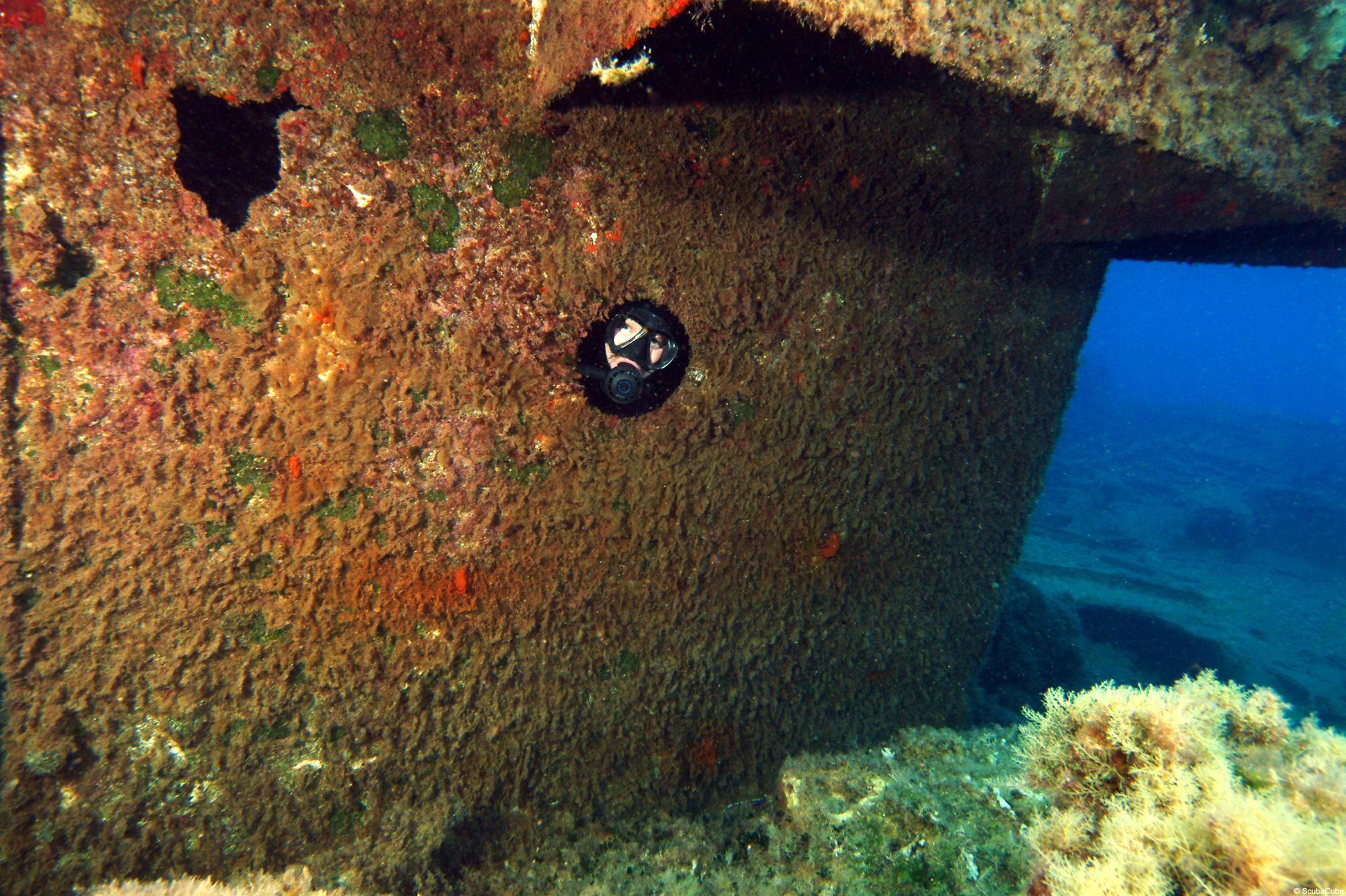 Cyprus Vera K Wreck Diving Site